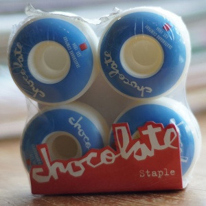 Chocolate staple wheels 52mm