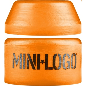 Mini Logo Hard Cone / Barrel Orange Bushing Set – 100a