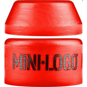 Mini Logo Hard Cone / Barrel Red Bushing Set – 100a
